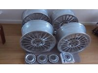 "BMW Alpina alloy wheels 18"" just refurbed E36 E46 316i 318i 320i 325i 328i 330i Z3 Z4"