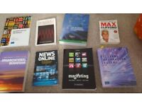 Media, PR, business student text books