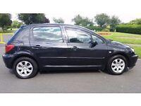 2005 Peugeot 307 S HDI 90, Diesel 5 Door hatchback,