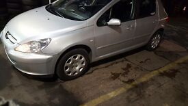 Peugeot 307 1.4 2004 1 owner Low Miles