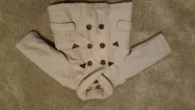 ZARA BABY Boy Beige Coat/Jacket 6-9months