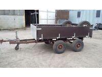 Small tandem axle trailer