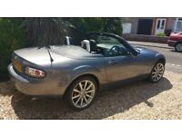 Mazda MX-5 Split Top Hard Roof Alloy Wheels Leather Seats.