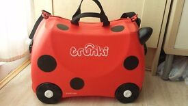 Ladybird Trunki kids suitcase
