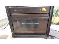 Maxol monte carlo lpg gas oven for camper van, motorhome, caravan, etc