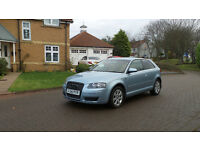 2007 56 AUDI A3 2.0 TDI SE 3D AUTO 168 BHP DIESEL *2 YEARS WARRANTY*FINANCE AVAILABLE