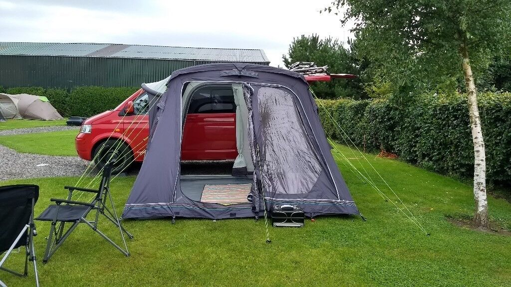 Outdoor Revolution Movelite T2 Camper Air Awning For VW T5 T4 Transit Vito