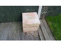 Reclaimed slabs and blocks
