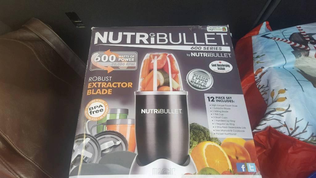 Brand new nutribullet600