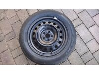 """16"""" Toyota Steel Wheel with tyre"""
