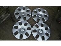 Vauxhall 16 wheel trims