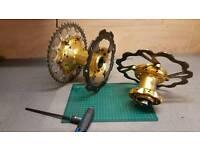 Talon wheel hubs