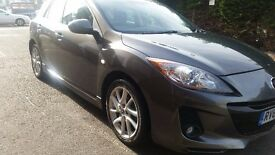 2013 Mazda 3 1.6 Tamura 5dr Manual Petrol Hatchback Excellent Condition