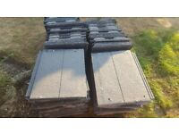Russell Lothian Grey Roof tiles - New Unused
