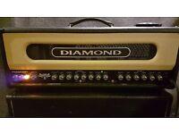 Diamond Spitfire II 100 watt valve amplifier head