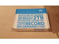 Sky+HD 2TB Box - New in box never used.