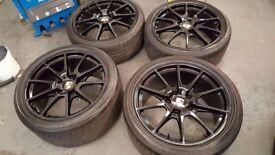 Porsche Cayman R Boxster Spyder wheels