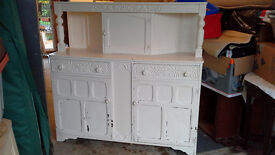 Wooden White Painted Dresser