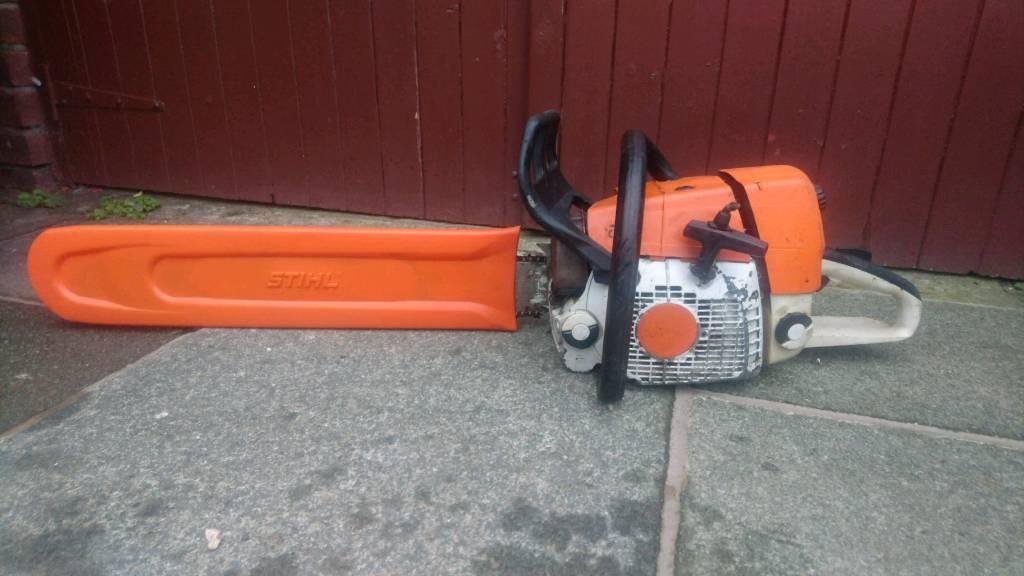 Stihl Ms 361 Chainsaw 25 Bar