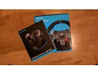Logitech G29 wheel, pedals, gear-stick bundle BRAND NEW - SEALED (PS3 PS4 + PC)