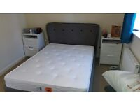 Otterman bed frame and mattress