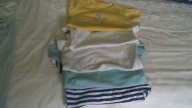 selection of baby clothes 6-9 month