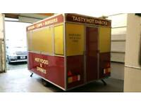Catering food trailer