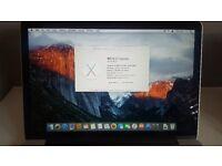 MacBook Pro Retina Display 8GB memory 512GB SSD