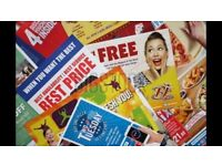 Reliable Leaflet Distribution **Family run* £30 per 1000*