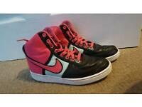 Nike high top trainers