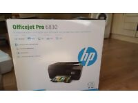 HP Officejet Pro 6830 Wireless all in one printer - Brand new