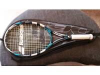 Babolat reakt team tack+ tennis racket