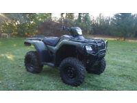 Honda TRX500 4WD ATV Quad Road Legal