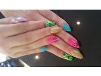 Beauty therapist,nails extention,manicure,pedicure ,permanent makeup and many more