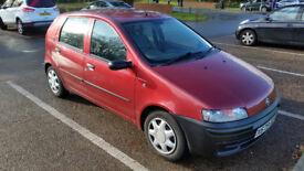 Fiat Punto 1.2 LOW MILAGE! 10 months MOT!