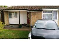 2 bed bungalow in Turvey just outside Bedford. MUTUAL exchange only.