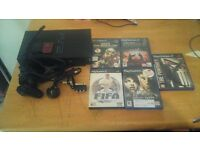 PS2 WITH 5 GAMES AND 2 MEMORY CARDS price dropped to £15