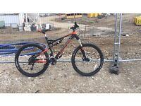 """Boardman Full suspension 27.5"""" Mountain bike NEW"""