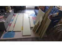 MDF (Green/Moisture-resistant) 18mm-thick Offcuts - collection only