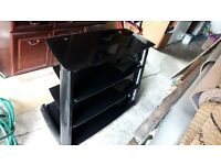 Black TV stand From john lewis