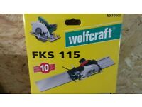 WolfCraft FKS 115 Circular Saw Guide Rail
