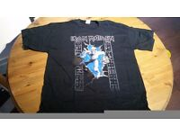 Iron Maiden XL brand new shirt. never used.