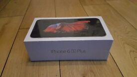 Brand new sealed in box i phone 6s plus 32GB. Space grey