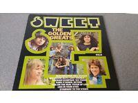 THE SWEET - GOLDEN GREATS - VINYL L.P - RCA RECORDS