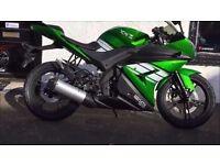 geneta xrz 125cc bike