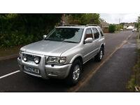 Vauxhall Frontera 2.2 DTi 4x4 2003 ONE Year MOT