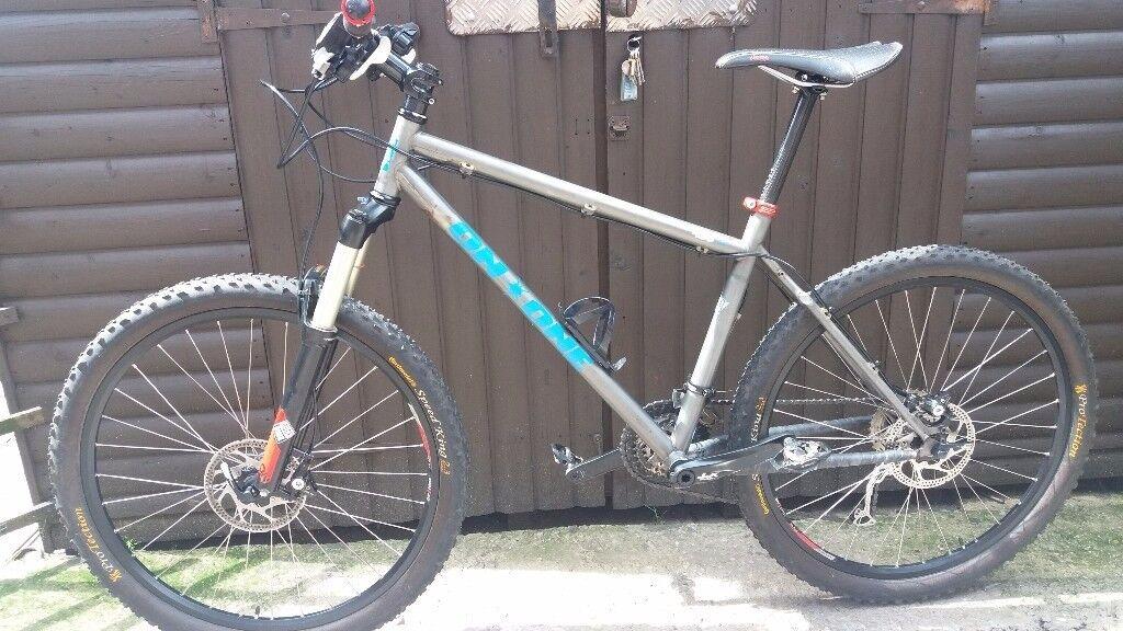 On one 456 evo 2 mountain bike