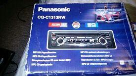 Panasonic Car Stereo CD/MP3