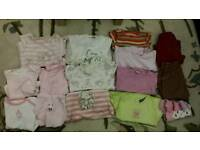 baby girl clothes 3-6m bundle