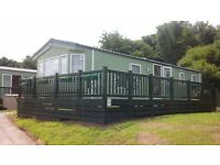 3 bed caravan on Parkdean site Whitacres near Newquay